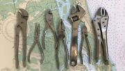 Set Of 7 Stainless Steel Tools In Canvas Wrap - Perfect Gift For Boat Lovers