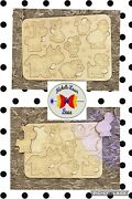 Wooden Puzzle Baby Kids Toddler Jigsaw Farm Animal Diy Learning Toys
