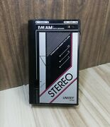 Stereo Unisef Japan Z-20p Vintage Radio Cassette Player For Collection