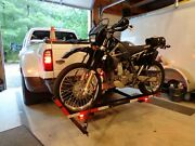 600 Lb. Hitch Receiver Mount Motorcycle Carrier Hauler 2 Receiver