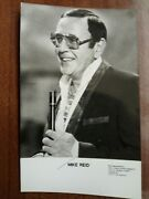 Mike Reid Frank Butcher Eastenders Hand Signed Photo Autograph Free Post