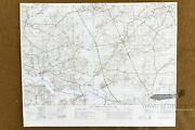 Ww2 Normandy Map D-day Map 1 Ste Mere Eglise