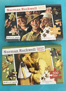 Norman Rockwell Puzzles 2 500 Pieces Wwi