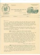 Cincinnati Oh Victor Safe And Lock Early 1900and039s Letterhead