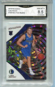 2018 Luka Doncic Revolution Red Chinese New Year Rookie Nm-mt 8.5 128