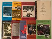 Eight Magazines And Index From The National Association Of Jazz Educators 1983-85