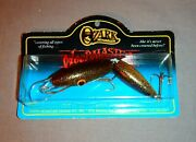 Discontinued Ozark Mountain Wood Master Jointed Gold Shimmer Lure - Mint