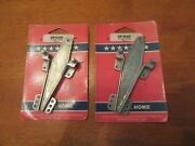 Vintage Set 2 Pairs Replacement Mobile Home Hinges Awning And Windows - Nos