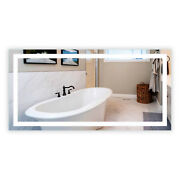 Led Bathroom Vanity Mirrors - Rectangular - Front-lighted - Wall-mounted