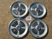 1965 Ford Galaxie 500 15 Wheel Covers Hubcaps Set Of 4