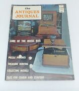 Antiques Journal October 1972 Music Box Puzzle Pictures Trasure Medals