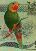 One Ticket Of Fiji Zz Replacement Parrot New Polymer 5 Dollars