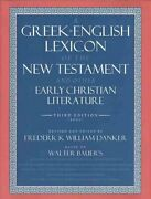 A Greek-english Lexicon Of The New Testament And Other Early Ch... 9780226039336