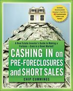 Cashing In On Pre-foreclosures And Short Sales A Real Estate In... 9780470419816