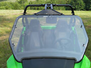 2014+ Arctic Cat Wildcat Premium Lexan Windshield With Quick Clamps And Dual Vents