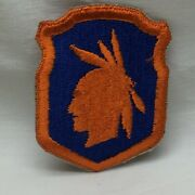 Vintage Military Patch 98th Infantry Division App 3 Tall