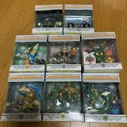 Unifive Dragon Ball Museum Collection Figure 10 Species Set Out Of Print Anime