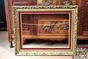 Large Antique Rococo Style Gilded Painting/mirror Frame