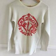 Red Hot Chili Peppers Rock Band Menand039s Long Sleeve T-shirt Size M 80s Vintage