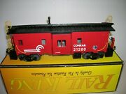 Mth 30-7011 Conrail Bay Window Caboose W/ Interior Lnboxed , Lot 20730