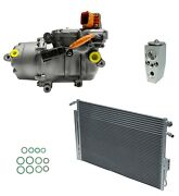 Ryc Reman Complete Ac Compressor Kit With Condenser Ad-0415 Fits Volt 1.5l 17-19