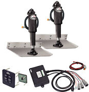 12 X 12 Standard Mount Trim Tab Kit With Standard Tactile Switch - Lenco