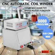1pcs Cnc Automatic Coil Winder Winding Machine 400w For 0.03-1.2mm