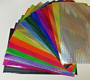 Prism Sign Vinyl Holographic 1/4 Mosaic Choose Any Color And Size