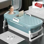 Baby Shining 1.4m/55in Baby Bath Tub Portable Home Roller Massage Steaming Adult