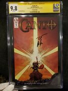 Canto 1 Sdcc Convention Edition 2x Sign Cgc 9.8 Ss 1st Idw 💥 Rare Low Print 250