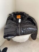 Urban Outfitters High Shine Puffer Jacket Sz.small