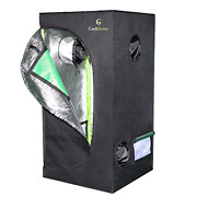 2x2x4 Feet Mylar Hydroponic Grow Tent With Obeservation Window And Floor Tray