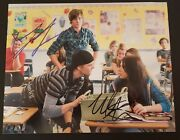 Zac Efron And Michelle Trachtenberg Autographed Signed 8x10 Photo 17 Again Coa