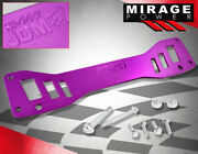 For Rsx Dc5 Civic Si Aluminum Rear Sub-frame Chassis Cross Tie Bar Brace Purple