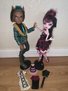 Monster High Sweet 1600 Clawd Wolf And Draculaura Doll First Wave