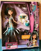 Monster High Ghouls Rule Cleo De Nile 2012 New Unopened
