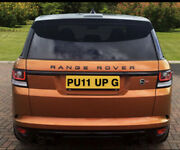 Private Cherished Number Plate For Sale - Pull Upg