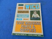 1966 Wico Corporation Coin-operated Machine Parts And Supplies Catalog