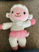 16 Doc Mcstuffins Take Care Of Me Lambie Interactive Plush Toy Just Play Sing