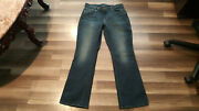 Lucky Brand Women's S Size 14/32 32x30.5 Lolita Low Rise Boot Cut Jeans.