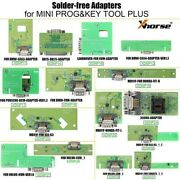 Xhorse Xdnpp0ch 16pcs Solder-free Adapters And Cables Work With Mini Prog