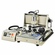 3d Diy 6040 Router Engraver 4axis Usb Millingdriiling Machine Water-cooling Us