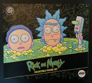 Rick And Morty Mondo Exclusive Deluxe Figure Set Adult Swim New And Sealed