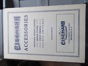 Vintage Eisemann Magneto Co Accessories Catalog Manual Brochure Starter Switches