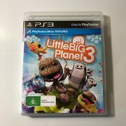 Littlebigplanet 3 - Sony Playstation 3 Ps3 Game - Little Big Planet - Rare Vgc