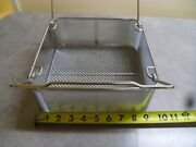 Stainless Steel Surgical Basket 10x9.5x4 Strainer Food Commercial Restaurant