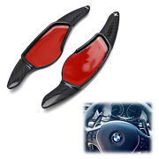 Carbon Steering Wheel Paddle Shifter Extension Covers For Bmw 3 4 5 7 Series X