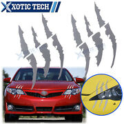 Scratch Claw Monster Car Vinyl Decal Eye Catching Stickers For Toyota Camry 86