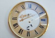 Clock Vintage Dial For Table Clock Spring + Mounting Frame Glass Hands. A1.2