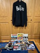 The Beatles Apple Sweatshirt 2xl Ringo Doll Magazine Collection 2 Lunchboxes+
